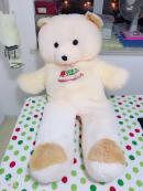 毛毛熊手链熊积木人玩具图片